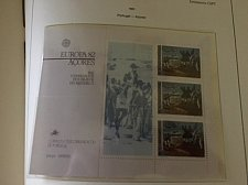 Buy Portugal Azores Europa 1982 SS mnh