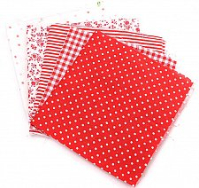 Buy 5pcs sewing diy doll clothes fabric