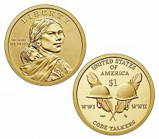 Buy 2016-D NATIVE AMERICAN DOLLAR - Code Talkers -UNCIRCULATED -From mint roll
