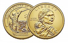 Buy 2015-P NATIVE AMERICAN DOLLAR COIN Mohawk Ironworker- Uncirculated! From mint roll