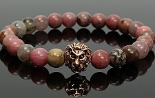 Buy LION Head beads bracelet
