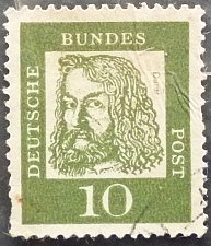 Buy Stamp Germany 1961 Famous Germans 10 & 20 Pfg
