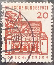 Buy Stamp Germany 1964 German Building Structures of the 12th Century at lorsch 20 Pfn