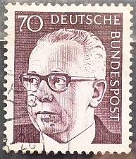 Buy Stamp Germany 1970 Gustav Heinemann 70 Pfg