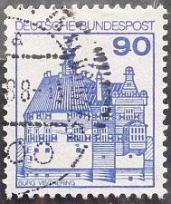 Buy Stamp Germany 1978 Palaces and Castles 90 Pfg Vischering