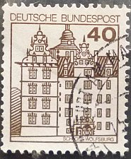 Buy Stamp Germany 1980 Palaces and Castles 40 Pfg Wolfsburg Castle