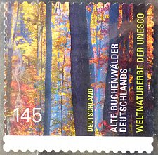 Buy Stamp Germany 2014 UNESCO World Heritage - Buchenwald Forrest 1.45 Euro