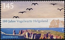 Buy Stamp Germany 2010 The 100th Anniversary of the Helgoland Bird Observatory 1.45 Euro