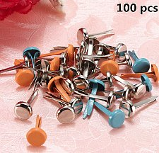 Buy 100pcs metal snaps