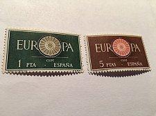 Buy Spain Europa 1960 mnh
