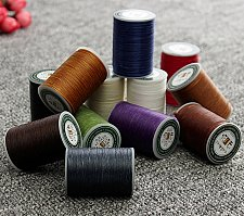 Buy 1 roll leather sewing thread polyester