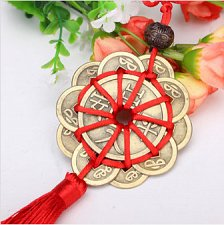 Buy feng shui lucky coins decoration