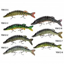 Buy Swimbait Crankbait Hard Fishing Bait Fish 20g Fishing Lures Lifelike 9-segement Pesca