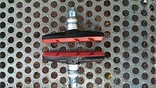 Buy V-Brake Holder Shoes Rubber Mountain Road Folding bike Brake pads Cycling Braking