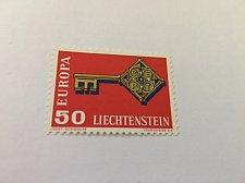 Buy Liechtenstein Europa 1968 mnh