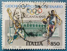 Buy Stamp Italy 1996 The 100th Anniversary of Modern Olympic Games 850 Lire