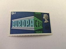 Buy Great Britain Europa 1969 mnh