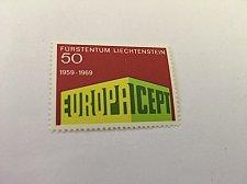 Buy Liechtenstein Europa 1969 mnh