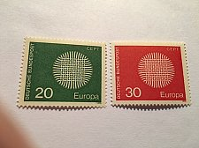 Buy Germany Europa 1970 mnh