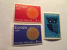 Buy Greece Europa 1970 mnh