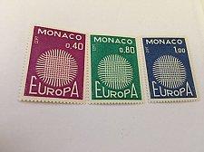 Buy Monaco Europa 1970 mnh