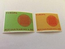 Buy San Marino Europa 1970 mnh stamps