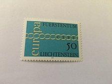 Buy Liechtenstein Europa 1971 mnh