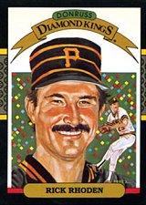 Buy Rick Rhoden 1987 Donruss Diamond Kings Baseball Card Pittsburgh Pirates