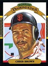 Buy Chris Brown 1987 Donruss Diamond Kings Baseball Card San Francisco Giants