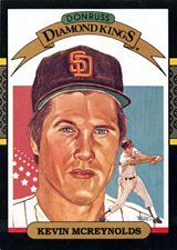 Buy Kevin McReynolds 1987 Donruss Diamond Kings Baseball Card San Diego Padres