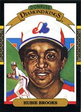 Buy Hubie Brooks 1987 Donruss Diamond Kings Baseball Card Montreal Expos
