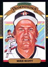 Buy Mike Scott 1987 Donruss Diamond Kings Baseball Card Houston Astros
