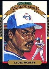 Buy Lloyd Moseby 1987 Donruss Diamond Kings Baseball Card Toronto Blue Jays