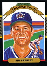 Buy Jim Presley 1987 Donruss Diamond Kings Baseball Card Seattle Mariners