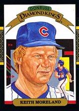 Buy Keith Moreland 1987 Donruss Diamond Kings Baseball Card Chicago Cubs