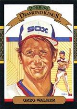Buy Greg Walker 1987 Donruss Diamond Kings Baseball Card Chicago White Sox