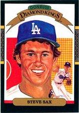 Buy Steve Sax 1987 Donruss Diamond Kings Baseball Card Los Angeles Dodgers