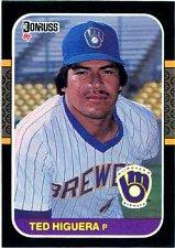 Buy Teddy Higuera 1987 Donruss Baseball Card Milwaukee Brewers