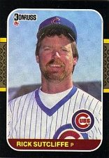 Buy Rick Sutcliffe 1987 Donruss Baseball Card Chicago Cubs