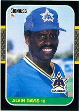 Buy Alvin Davis 1987 Donruss Baseball Card Seattle Mariners