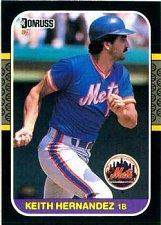 Buy Keith Hernandez 1987 Donruss Baseball Card New York Mets