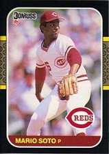 Buy Mario Soto 1987 Donruss Baseball Card Cincinnati Reds