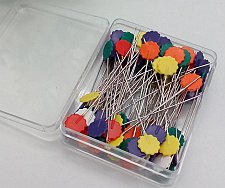 Buy 50pcs/box sewing pins accessories