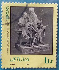 Buy Stamp Lithuania 1995 Europa (C.E.P.T.) Peace and Freedom 1 Litas