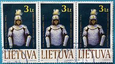 Buy Stamp Lithuania 1999 Museum Exhibits 17th Century Protective uniform of Lithuanian wa
