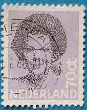 Buy Stamp Netherlands 1982 Queen Beatrix-(1938-) Type 'Struycken' 70c