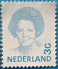 Buy Stamp Netherlands 1982 Queen Beatrix-(1938-) Type 'Struycken' 3G Pair