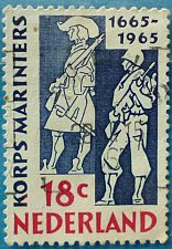 Buy Stamp Netherlands 1965 The 300th Anniversary of the Naval Corps 18c