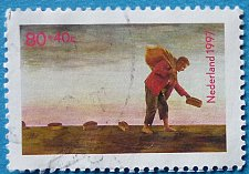 Buy Stamp Netherlands 1997 Children Fairy Tales Stamps Tom Thumb 80+40 c