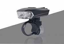 Buy Front Lamp USB Rechargeable Handlebar LED Bicycle Smart Head Light Bike Intelligent